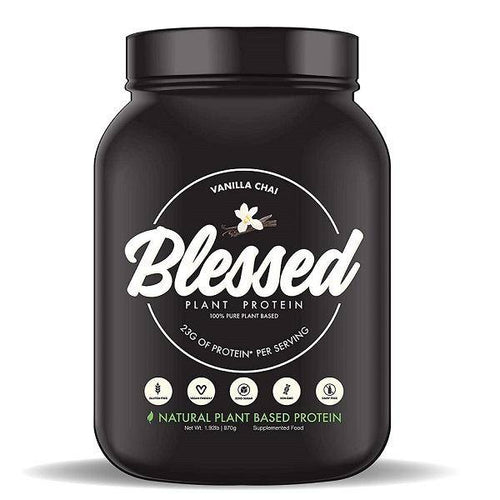 EHP BLESSED Plant Based Protein Vanilla Chai 30 Servings - Allsport