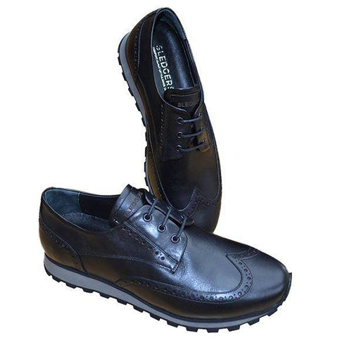 FLAGBLK FLAGSTAFF BLACK LEATHER - Allsport