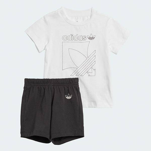 BADGE SHORTS AND TEE SET - Allsport