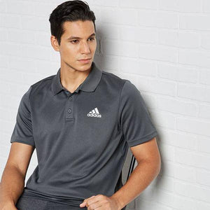 DESIGNED TO MOVE 3-STRIPES POLO SHIRT - Allsport