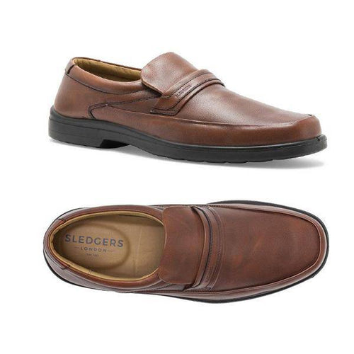 INDEX: Men's Handmade Leather Shoes.TAN - Allsport