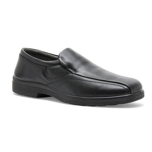 INVENT: Men's Handmade Leather Shoes BLACK - Allsport