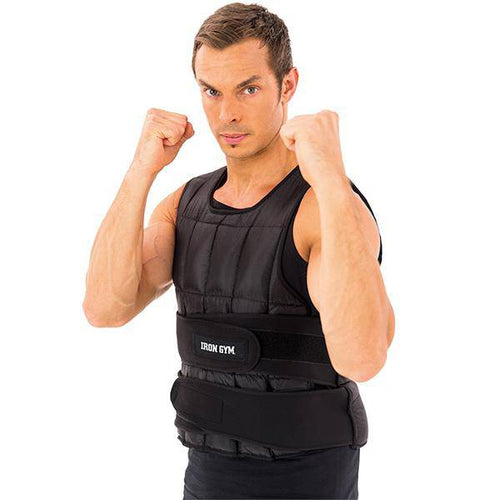 IRON GYM® WEIGHT VEST - 10 KG, ADJUSTABLE - Allsport