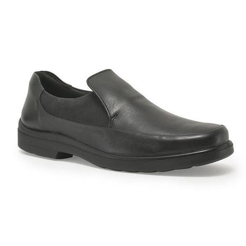 BENJAMIN: Mens Handmade Leather ShoesBLACK - Allsport