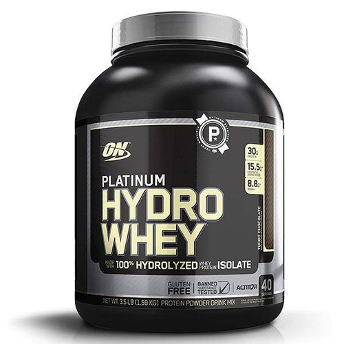 ON Platinum Hydro Whey,Turbo Chocolate  3.5 Lbs - Allsport