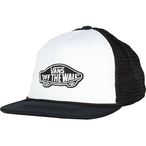 VANS OSFA SNAP BACK WHITE/BLACK CAPS - Allsport