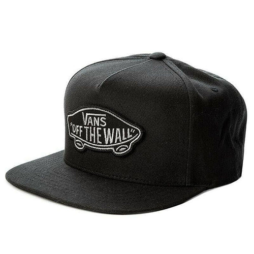 BLACK SNAP BACK OSFA CAPS - Allsport