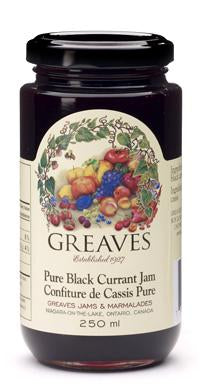 Greaves Black Currant Jam