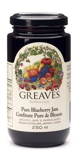 Greaves Pure Blueberry Jam