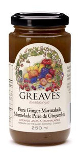 Greaves Pure Ginger Marmalade