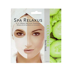 Spa Face Mask - Cucumber
