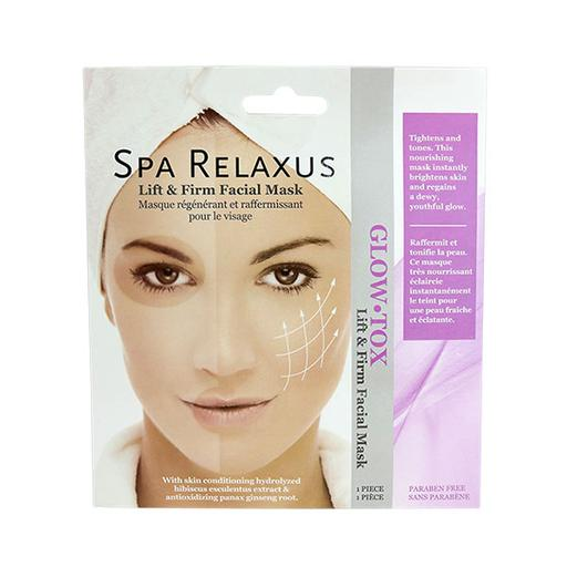 Spa Face Mask - Glow Tox