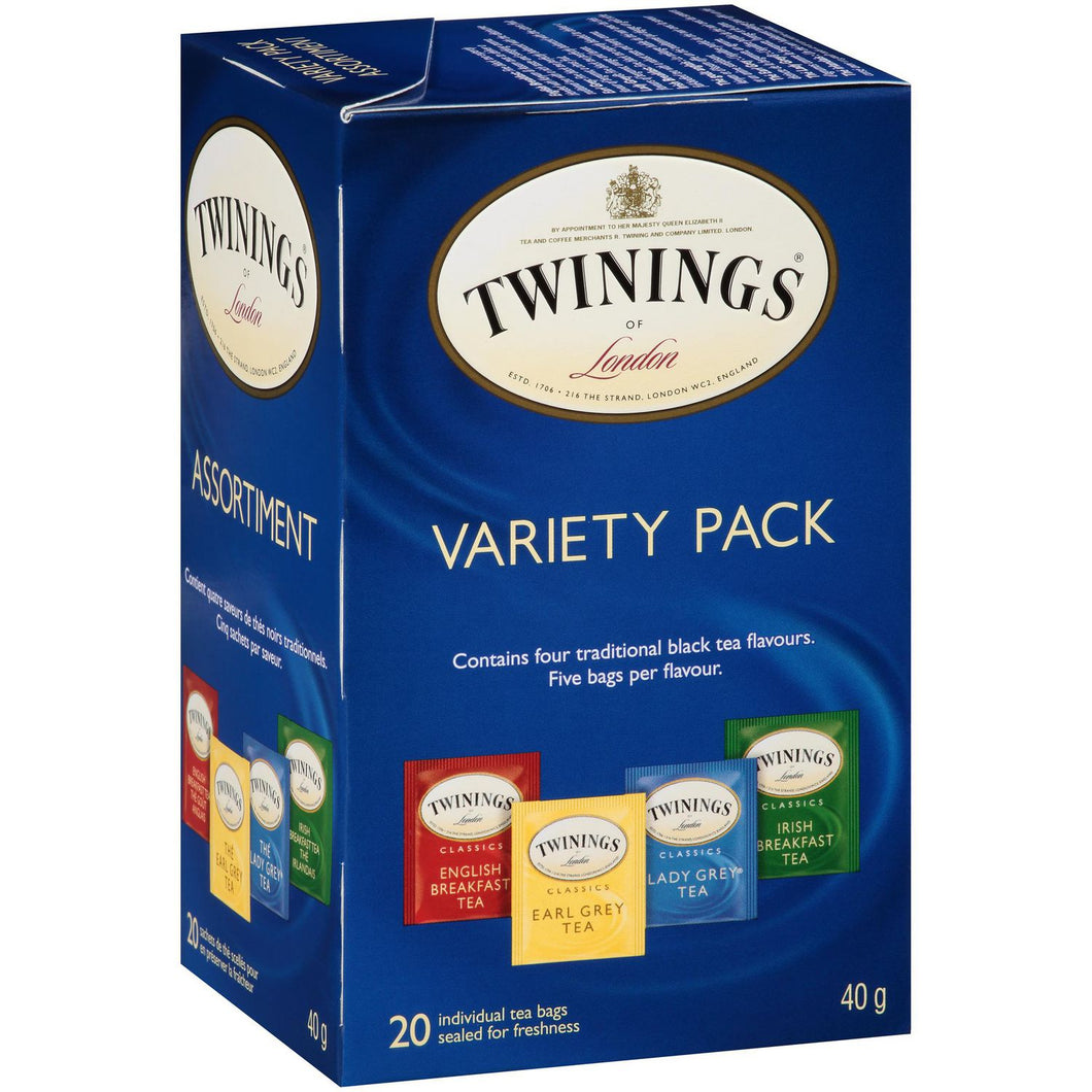 Twinnings Variety Pack of Tea