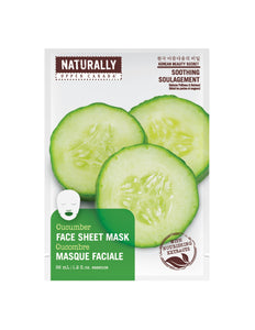 Spa Cucumber Face Mask