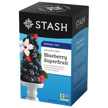 Load image into Gallery viewer, Blueberry Superfruit Herbal Tea
