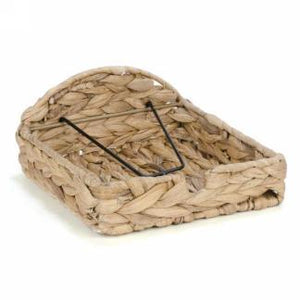 Natural grass napkin holder