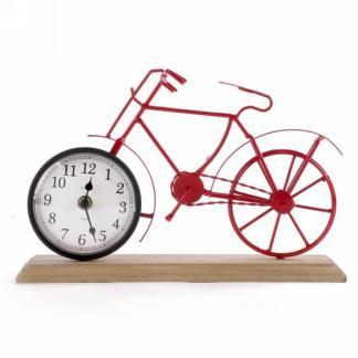 Red Metal Clock