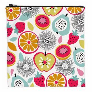 Reusable sandwich bag - colorful fruits
