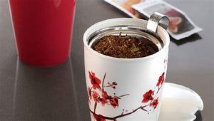 Tea Forte - Tea Infuser - with tumbler