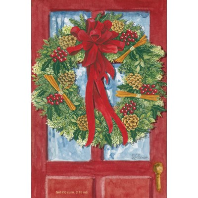Sachet - Red Door Wreath