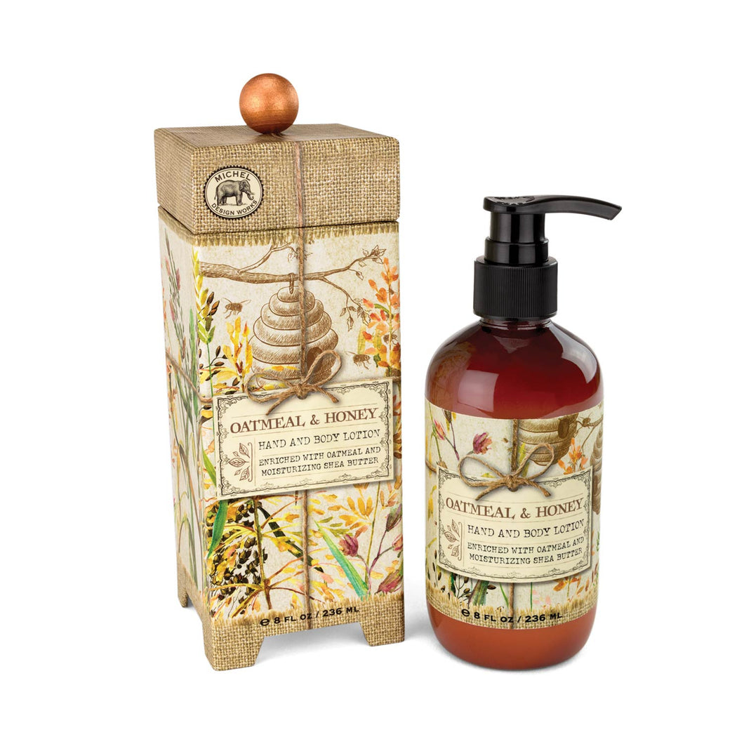 Hand & Body Lotion -Oatmeal & Honey