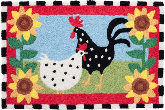 Rug - chickens