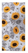 Just Bees Sunflower Toss Dual Purpose Terry Towel