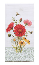 Floral Buzz Dual Purpose Terry Towel