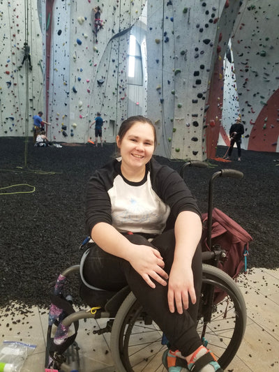 Words From an Adaptive Climber: There's Something You Need to Know