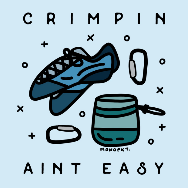 Crimpin' Ain't Easy - Sticker