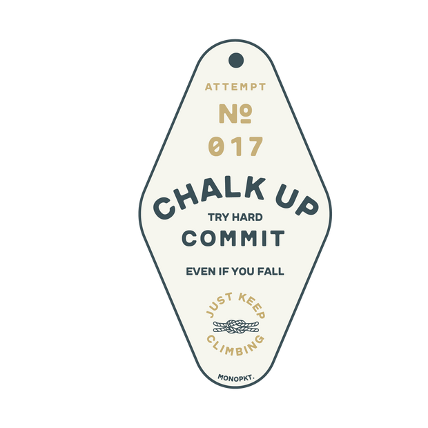 Just Keep Climbing - Sticker