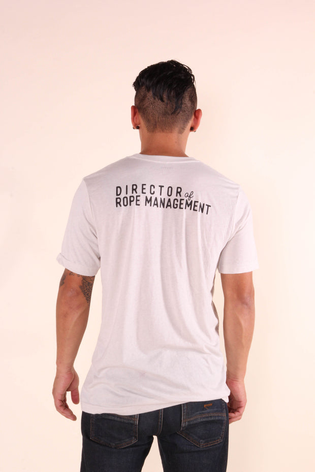 Director of Rope Management - Men's/Unisex Jersey Tee