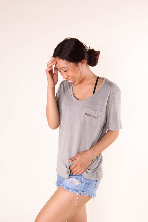 Wanna Take This Outside? - Women's Pocket Jersey Tee