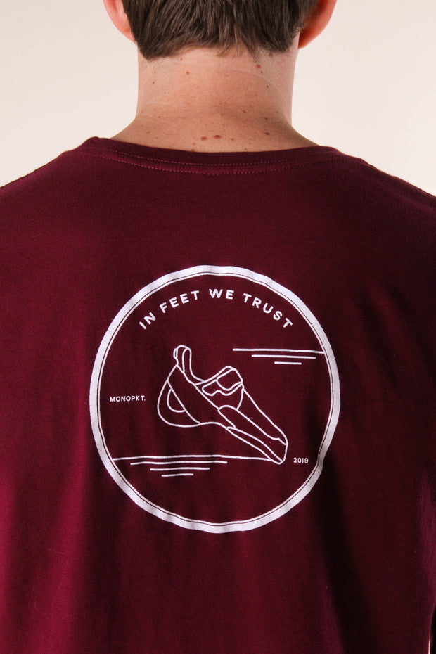 In Feet We Trust - Men's/Unisex Tee