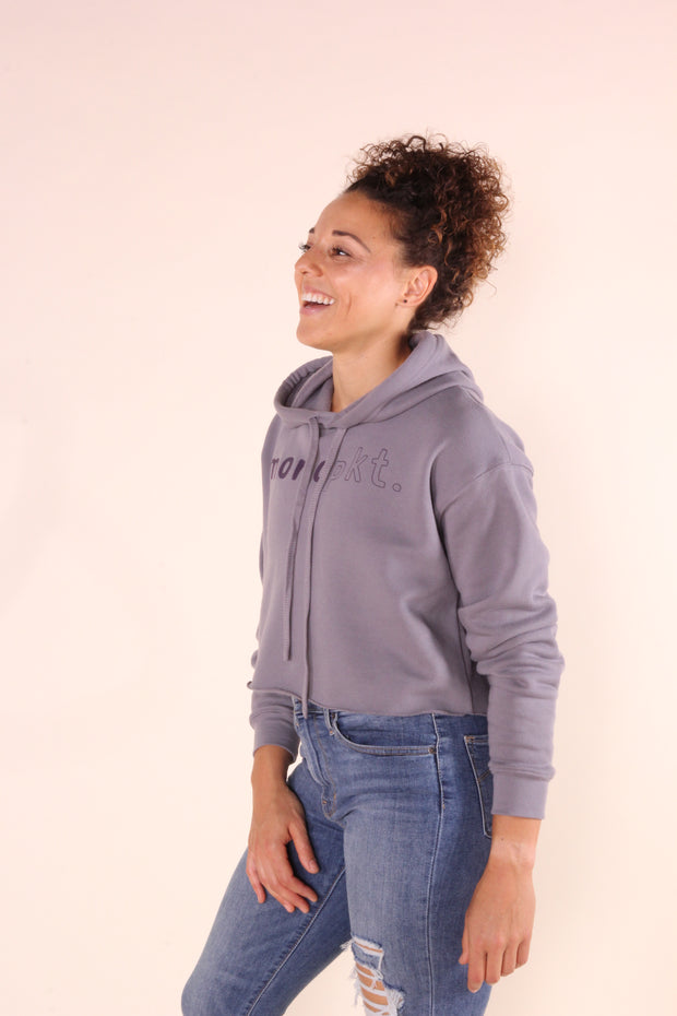 monopkt. - Women's Cropped Hoodie Sweater