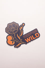 Keep Me Wild - Sticker