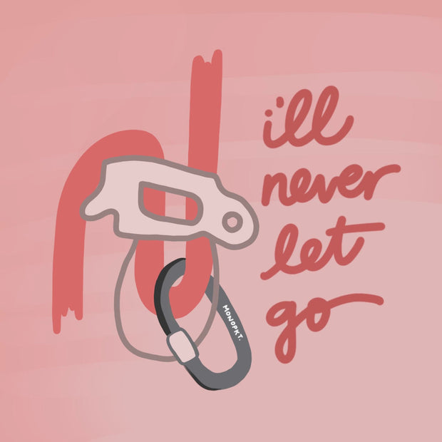 I'll Never Let Go - Sticker