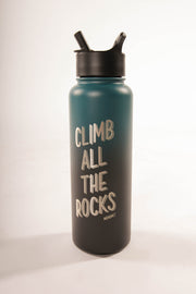Climb All The Rocks - 40oz Insulated Waterbottle
