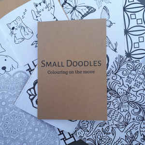 Small Doodles Colouring Book