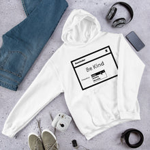 Load image into Gallery viewer, Be Kind Unisex Hoodie Light