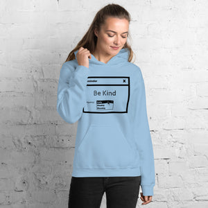 Be Kind Unisex Hoodie Light