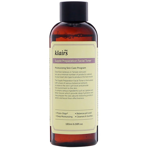 DEAR KLAIRS Supple Preparation Facial Toner
