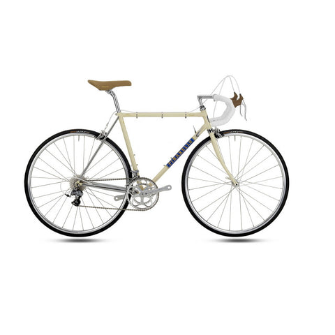Pinarello VENETO - CrMo - Vintage Bike - Cream/Light Blue 750