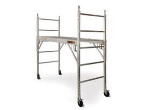 Alu Series 6' Square Scaffold Baker