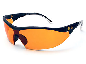 Lunette Caterpillar Orange | Safety glasses Caterpillar orange