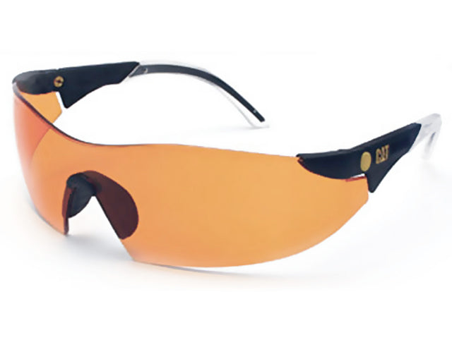 Lunette Caterpillar Orange | Safety Glass Caterpillar Orange