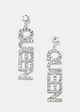 "Load image into Gallery viewer, ""QUEEN"" Earrings"