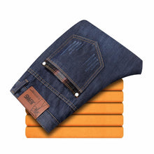 Load image into Gallery viewer, Newly Black Color Smart Casual Winter Jeans For Men