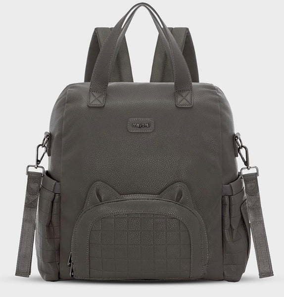 Mayoral Charcoal Padded Backpack #19802