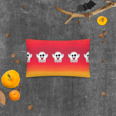 Seasonal Ghosting Pillow